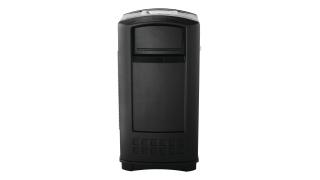 fg9p9100bla-rcp-decorative-refuse-plaza-jr-container-35g-ash-trash-black-primary.tif