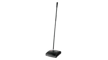 Executive Series™ 7.5 IN Dual-Action Bristle Mechanical Sweeper, Black