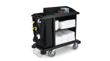 Executive Traditional Compact Housekeeping Carts