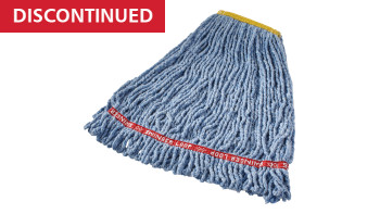 fgc21106bl00-rcp-cleaning-solutions-standard-wet-mop-swinger-loop-shrinkless-small-blue-angle.tif