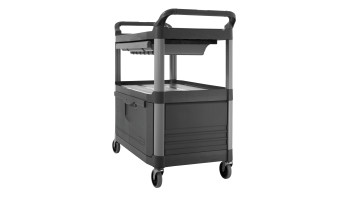 Service Carts with Lockable Doors