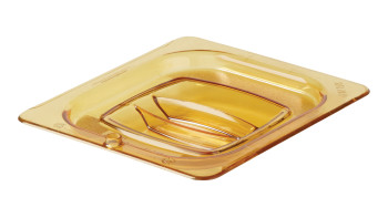fg208p23ambr-rcp-food-service-food-storage-lid-sixth-with-peg-hole-angle.tif