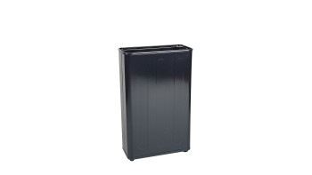 Steel Wastebasket Open Tops
