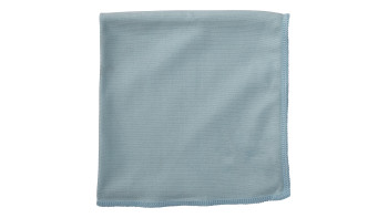 Executive Series™ HYGEN™ 16 IN X 16 IN Glass Microfiber Cloth, 6 Pack, Blue