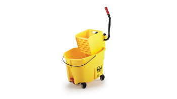 WaveBrake® Side-Press Buckets and Wringers, Drain
