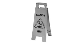 """Caution"" Floor Signs"