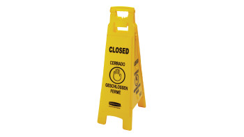 fg611478yel-rcp-cleaning-solutions-safety-floor-sign-38in-yellow-closed-angle.tif