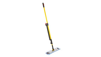 HYGEN™ PULSE™ Microfiber Mop Kit, Single-Sided, Yellow