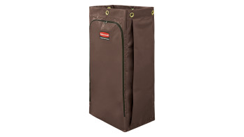 1966885-rcp-cleaning-cart-vinyl-bag-34-gal-brown-silo-angle.tif
