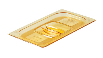 fg214p00ambr-rcp-food-service-food-storage-quarter-size-lid-amber-angle.tif