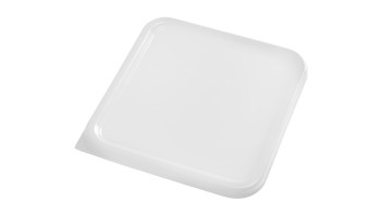 White Square Storage Container Lids