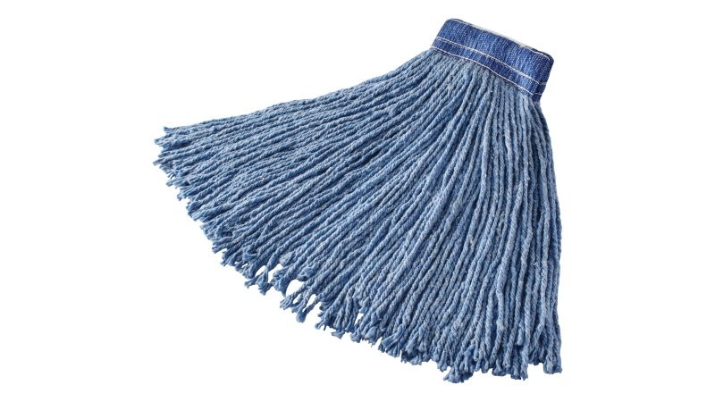 fgf55700bl00-rcp-cleaning-solutions-dura-pro-premium-cut-end-blend-mop-20oz-blue-angle.tif