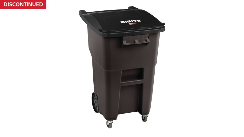 2018384-rcp-utility-refuse-recycling-series-brute-rollout-with-casters-50gal-brown-angle.tif