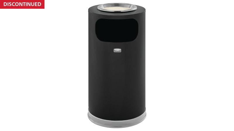 FGSO16SU20GLBK-rcp-refuse-steel-receptacles-crowne-euro-metallic-so16su-black-primary.tif