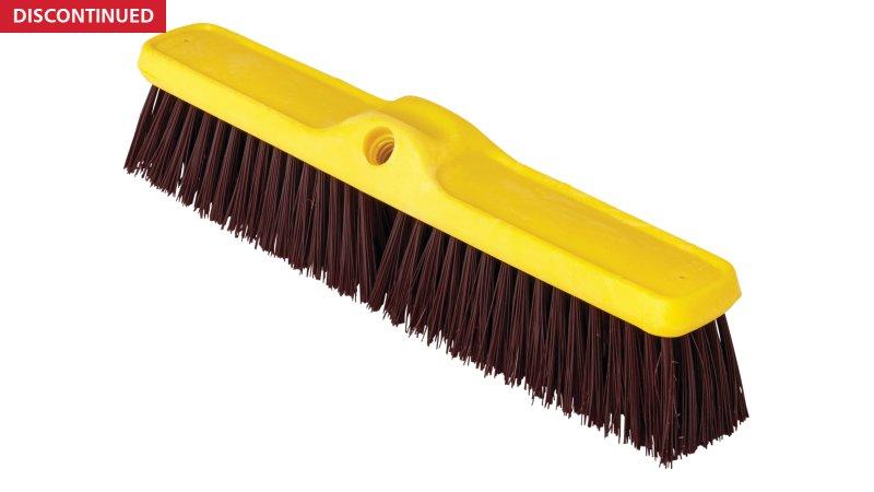 Heavy Duty Push Brooms Coarse Polypropylene And