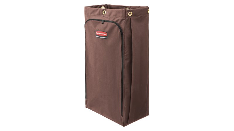 1966887-rcp-executive-series-canvas-vinyl-lined-bag-30-gal-brown-silo-angle 1.tif