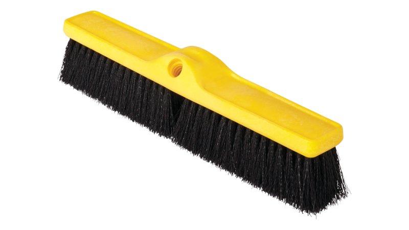 Medium Push Brooms Polypropylene Fill Rubbermaid