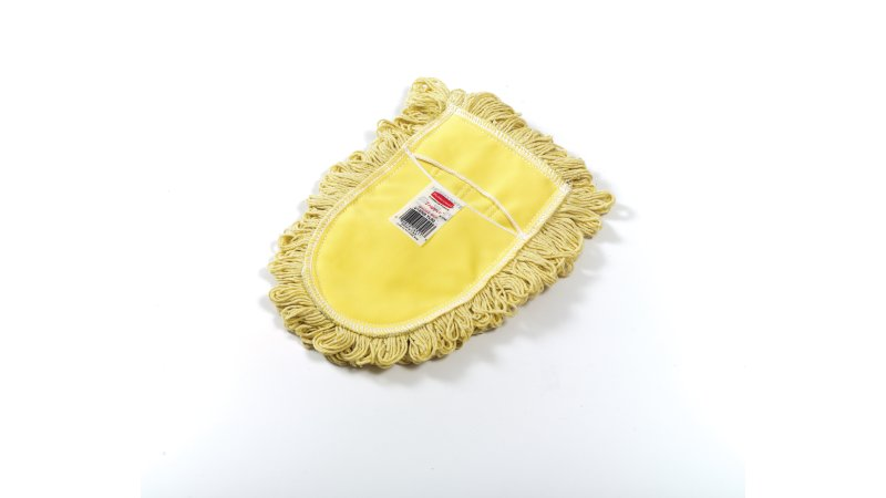 Trapper 174 Wedge Dust Mop Head Looped End Blend Yellow