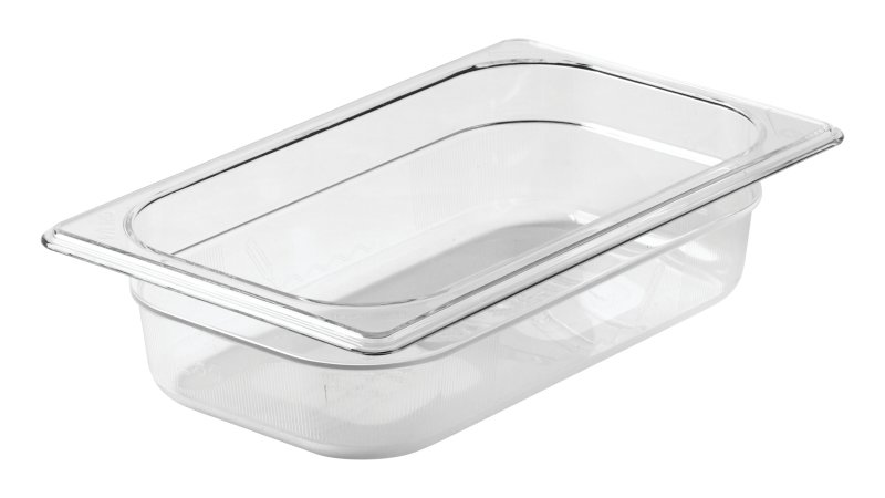fg110p00clr-rcp-food-service-food-storage-quarter-size-insert-cold-pan-2.5in-clear-angle.tif