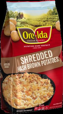 Shredded Hash Brown Potatoes