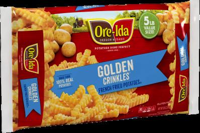 GOLDEN CRINKLES