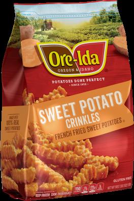 Sweet Potato Crinkle Fries