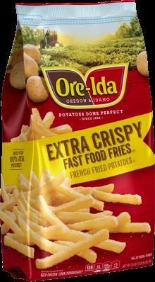 Ore-Ida Fast Food Fries Extra Crispy French Fried Potatoes 26 oz Bag