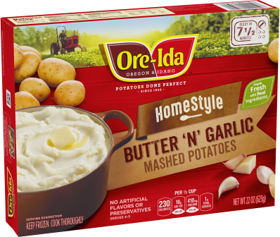 Butter 'N' Garlic Mashed Potatoes