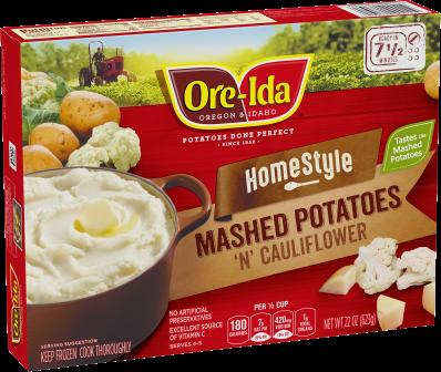 Homestyle Mashed Potatoes 'N' Cauliflower