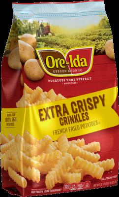 Extra Crispy GOLDEN CRINKLES