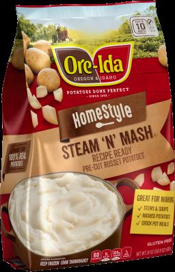 Homestyle STEAM N' MASH Potatoes