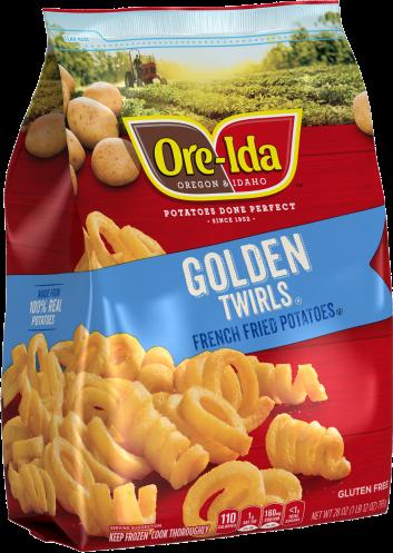 GOLDEN TWIRLS
