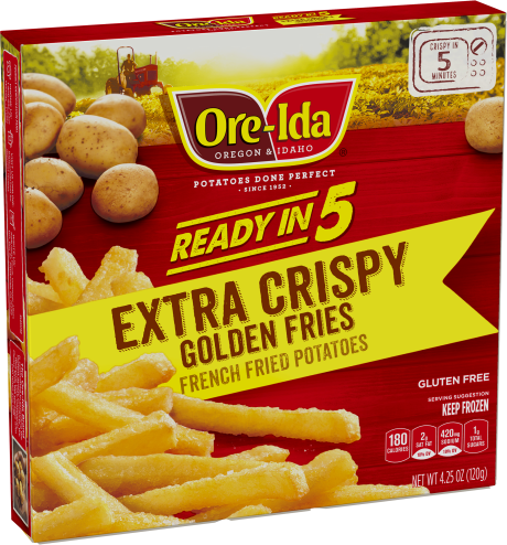 Extra Crispy Golden Fries