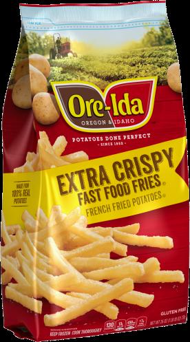 Extra Crispy Fast Food Fries