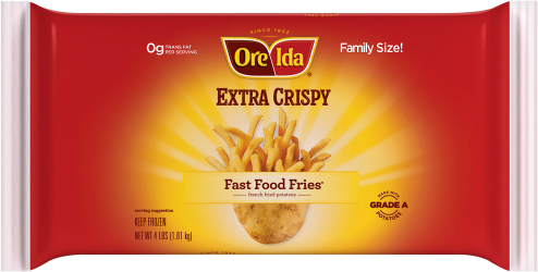 Extra Crispy Fast Food Fries