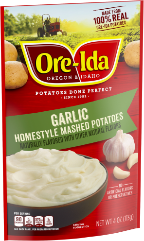 Garlic Homestyle Mashed Potatoes