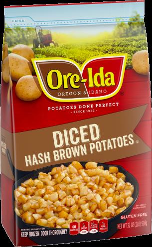 Diced Hash Brown Potatoes