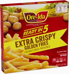 Extra Crispy Golden Fries image