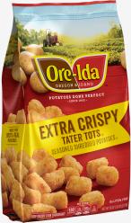 Extra Crispy TATER TOTS image