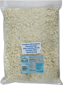 Athenos Crumbled Blue Cheese 80 oz Bag image