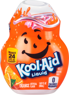 KOOL-AID Orange Liquid Drink Mix 1.62 fl oz Bottle image