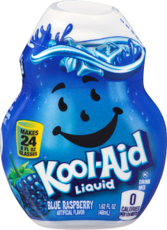 KOOL-AID Blue Raspberry Liquid Drink Mix 1.62 fl oz Bottle image
