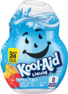 KOOL-AID Tropical Punch Liquid Drink Mix 1.62 fl oz Bottle image