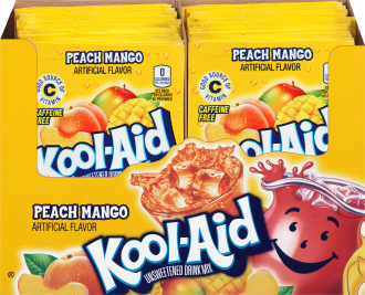 KOOL-AID Peach Mango Drink Mix 0.14 oz Packet