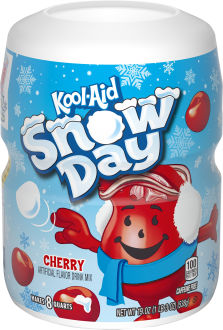 Kool-Aid Cherry Drink Mix 19 oz. Canister image