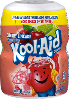 Kool-Aid Cherry Limeade Drink Mix 19 oz. Canister image