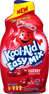 Kool-Aid Easy Mix Cherry Liquid Drink Mix 18.2 fl. oz. Bottle