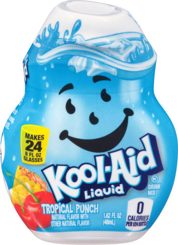 KOOL-AID Tropical Punch Liquid Drink Mix 1.62 fl oz Bottle