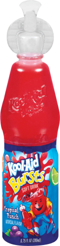 Kool-Aid Bursts Tropical Punch Soft Drink - 6.75 fl oz Bottle