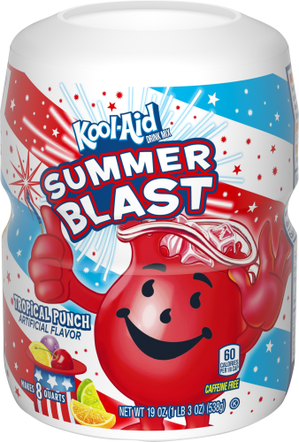 Kool-Aid Tropical Punch Drink Mix 19 oz. Canister